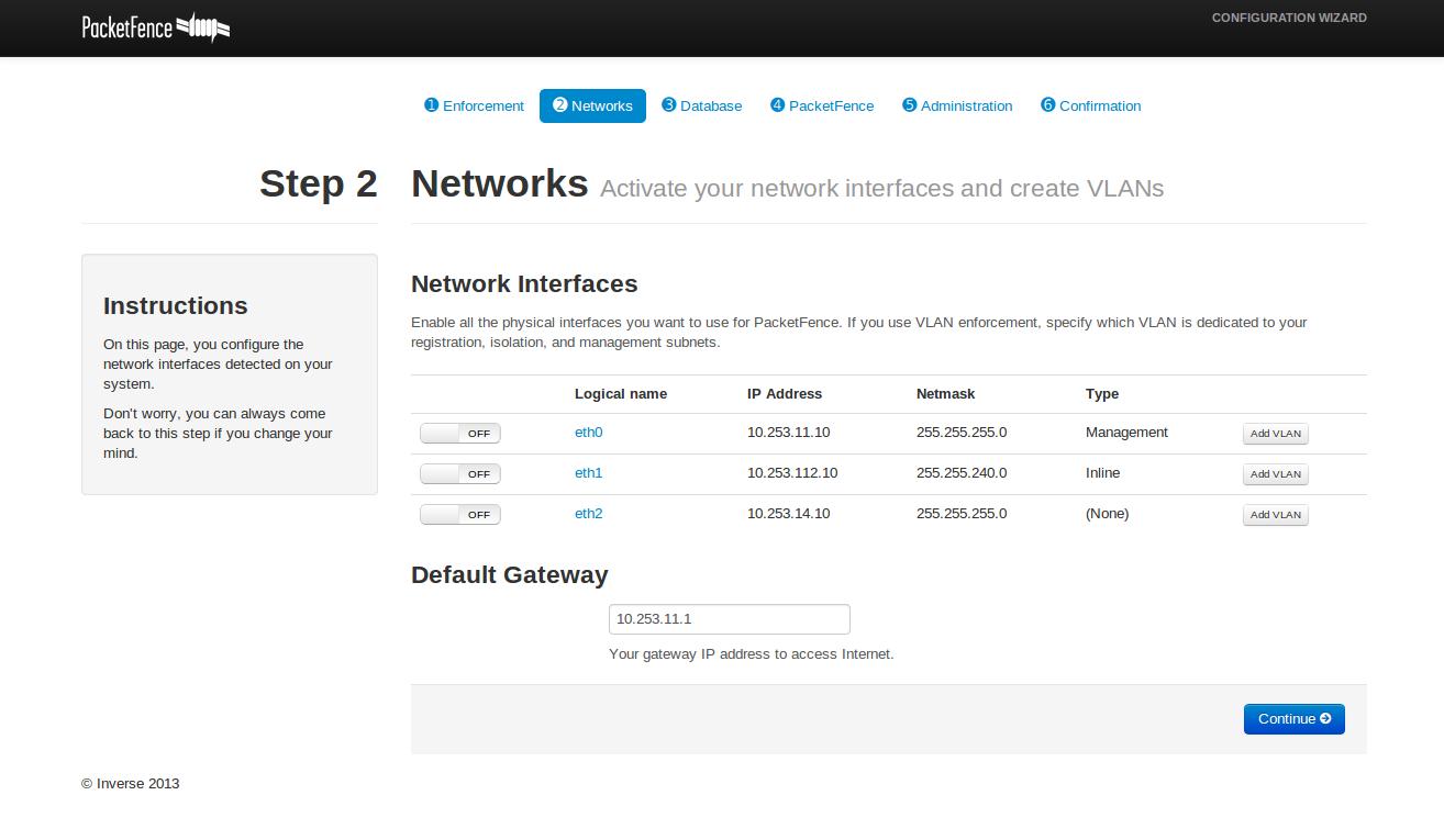 0001643: Configurator can not configure Network Interfaces on Ubuntu