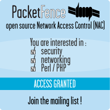 Contribute to the world's leading open source NAC!